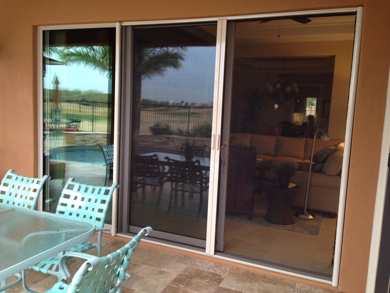retractable wizard screen door awnings more portfolio vistaview screens
