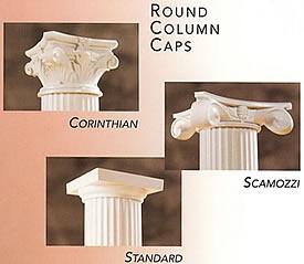 Round Column Caps