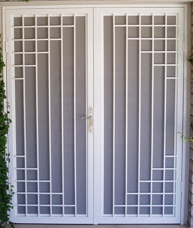 Custom Security Doors Phoenix Aaa Sun Control