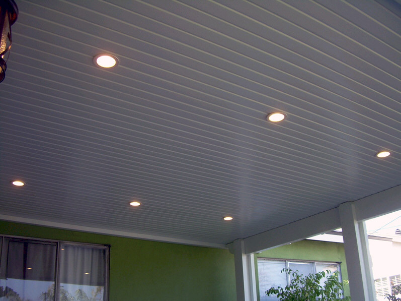 Alumawood Recessed Lighting