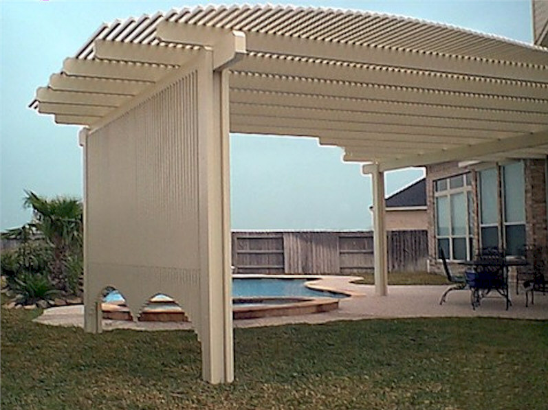 Alumawood Privacy Lattice Aaa Sun Control