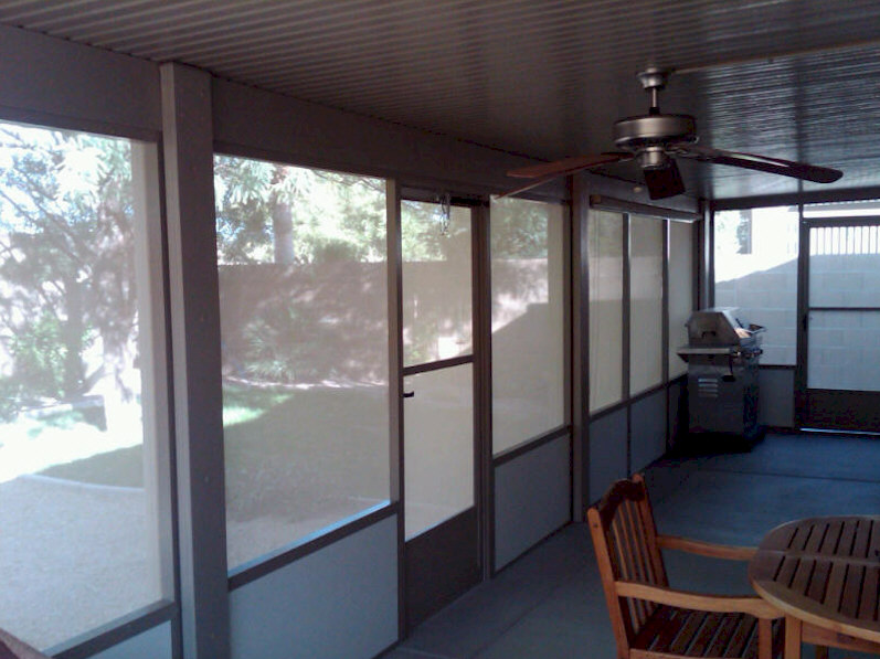 Alumawood Screened Patio Enclosures Aaa Sun Control