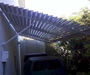 Louvered Awnings