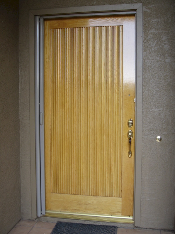 ClearView Retractable Screen Doors