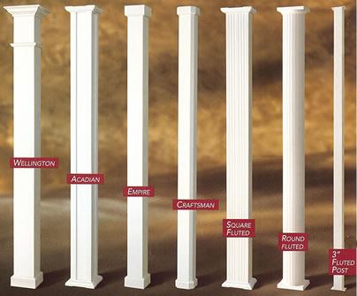 Patio Column Types 1 Aaa Sun Control