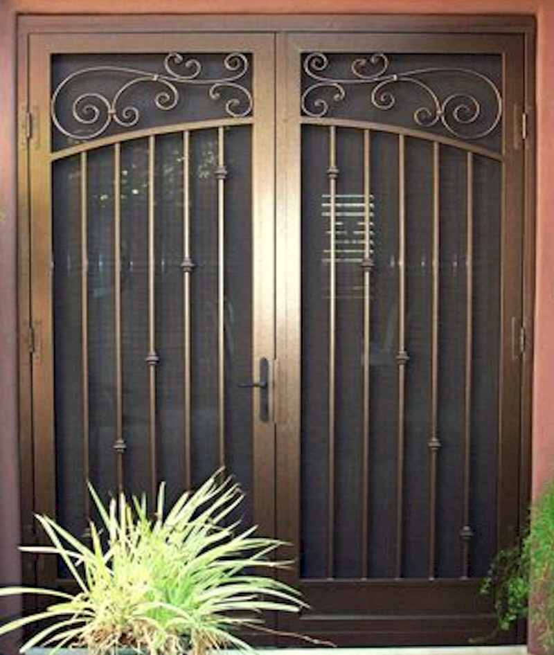 Custom security doors phoenix aaa sun control