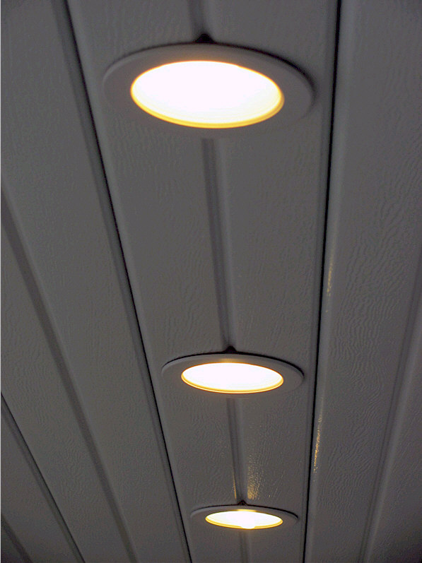 Recessed Lighting For Alumawood Patio Covers Aaa Sun Control