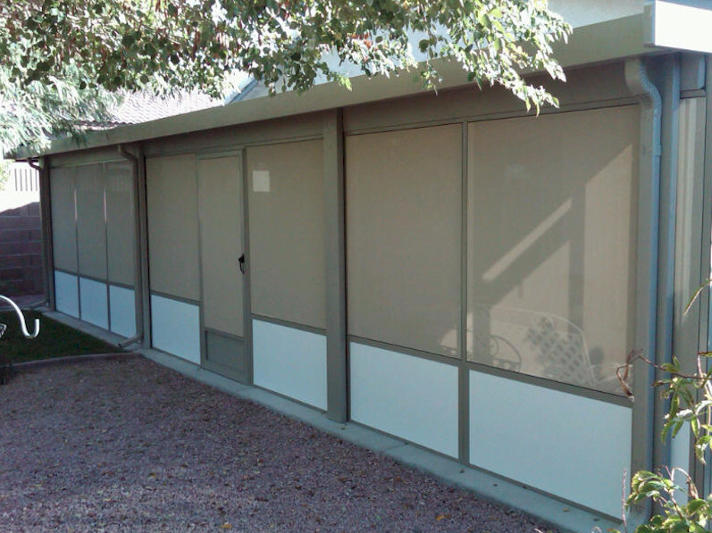 Screened Patio Enclosure