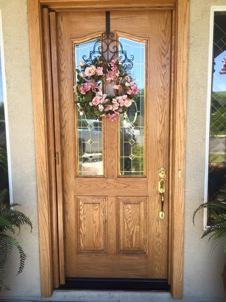ClearView retractable screen door