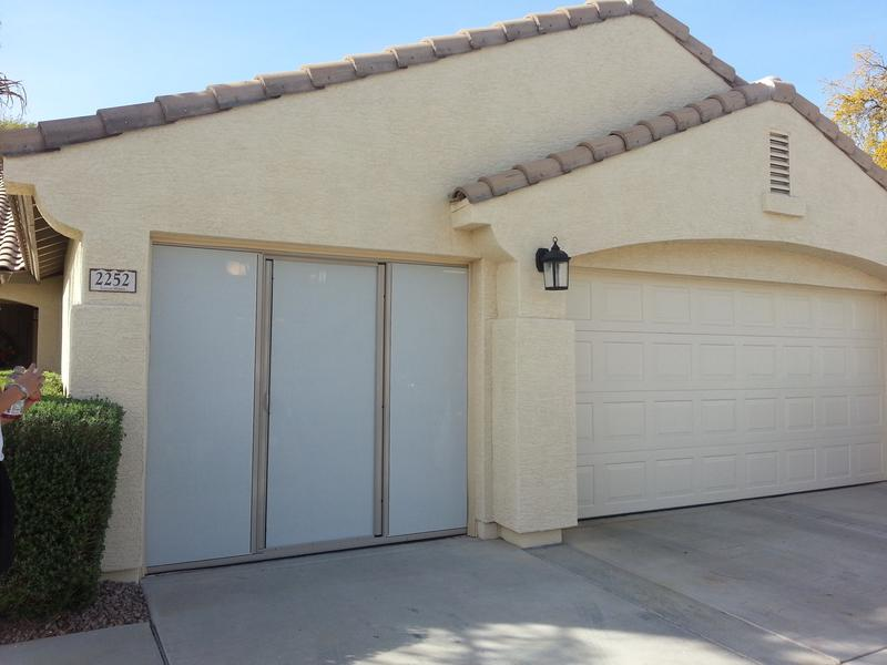 Garage Door Screens Phoenix