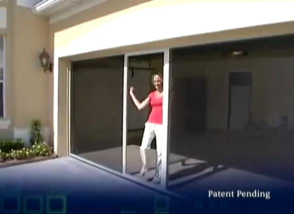 Lifestyle Retractable Garage Screen Provides An Airy Pest