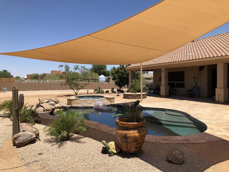 Sun Shade Sail Awnings Phoenix